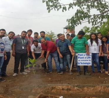 Go Green – Tree Plantation Initiative by SA Technologies Members – CSR Activity