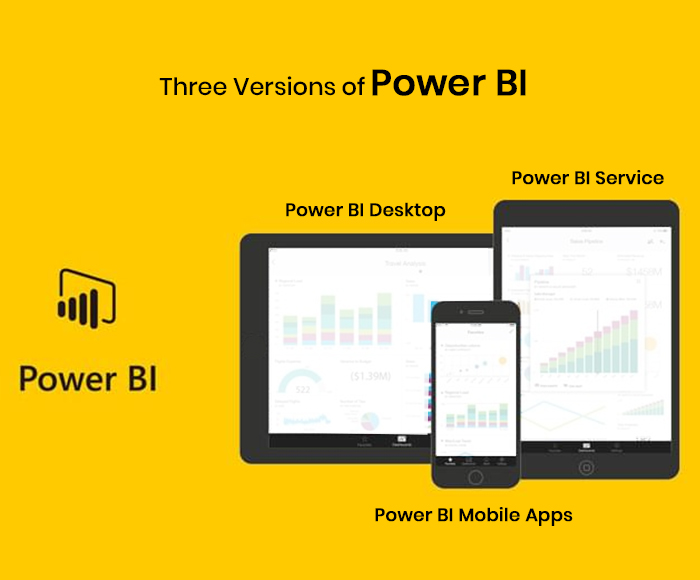 Three Versions of Power BI